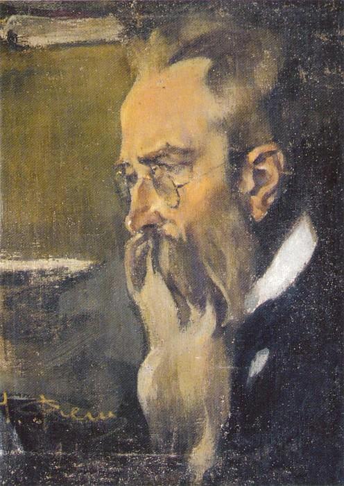 Портрет Н.А. Римского-Корсакова (1920-е). Nikolay Feshin