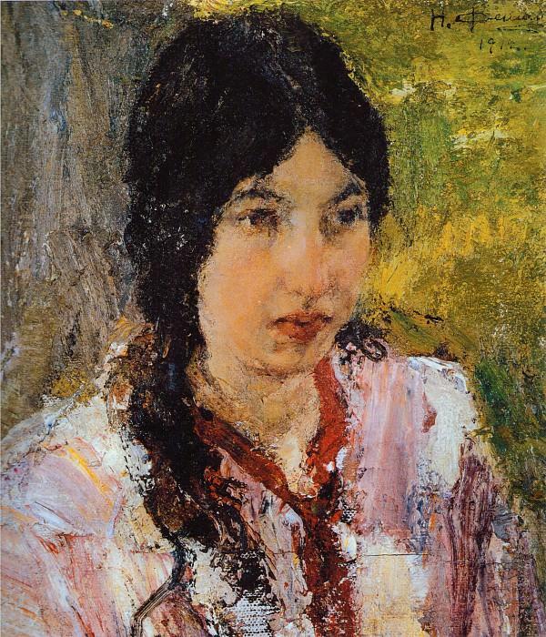 Портрет М.Г.Медведевой (1912). Николай Иванович Фешин