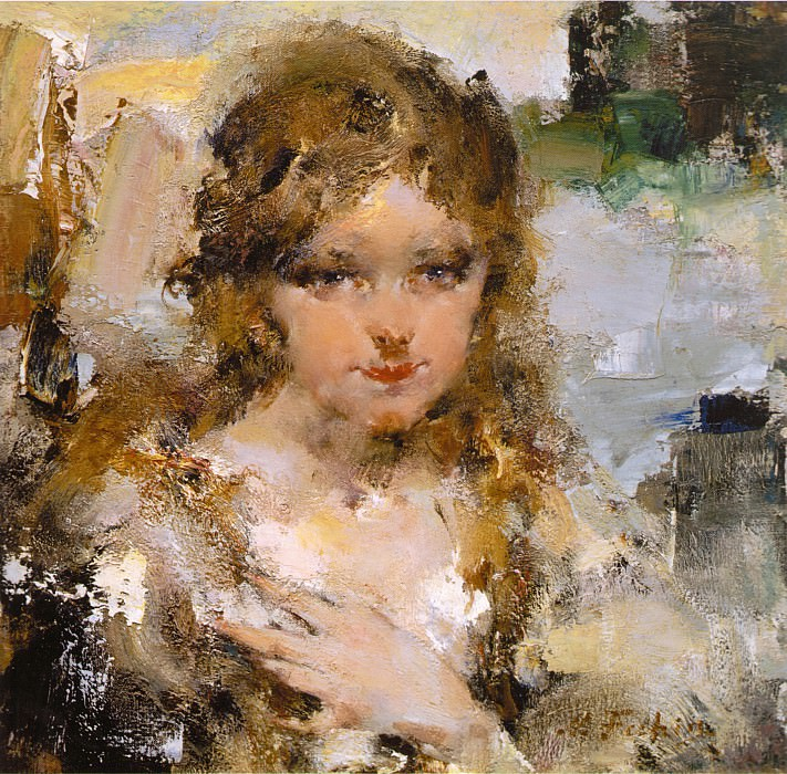 Портрет Ии (1923). Nikolay Feshin