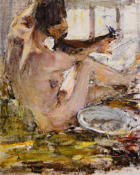 Ню. Этюд (1914). Nikolay Feshin