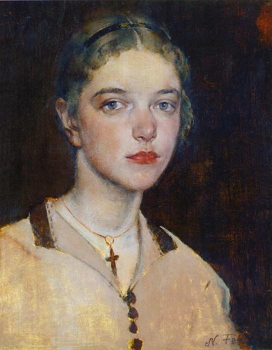 Ия (1928). Nikolay Feshin