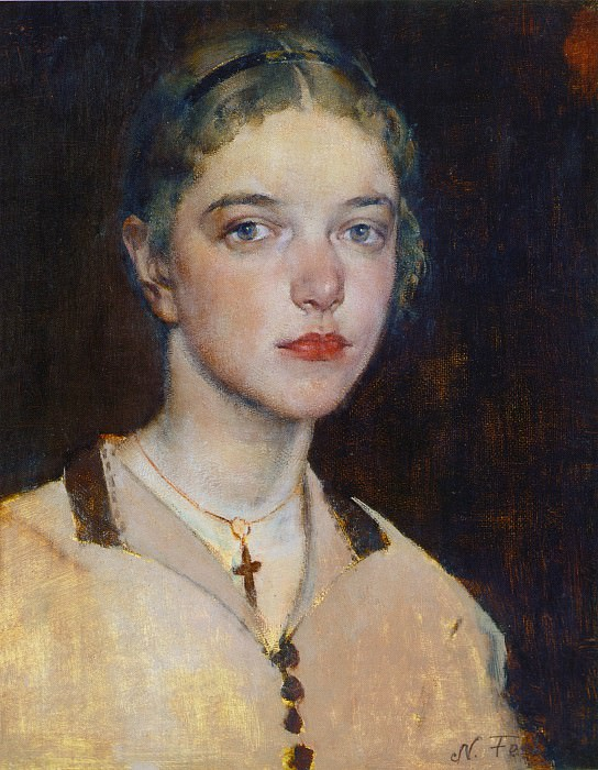 Ия (1928). Николай Иванович Фешин