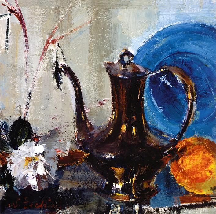 Натюрморт с чайником (1948). Николай Иванович Фешин