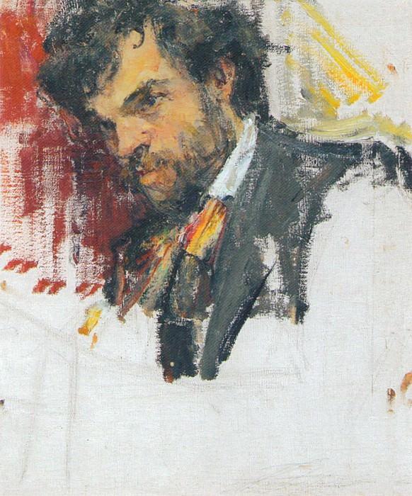 Портрет мужчины (Фомин А.И.) (1910-е). Николай Иванович Фешин
