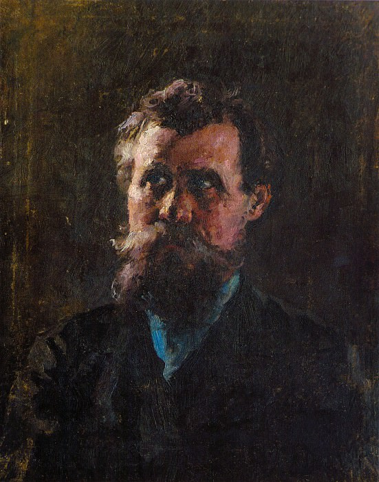 Портрет отца И.А.Фешина (1890-е). Николай Иванович Фешин