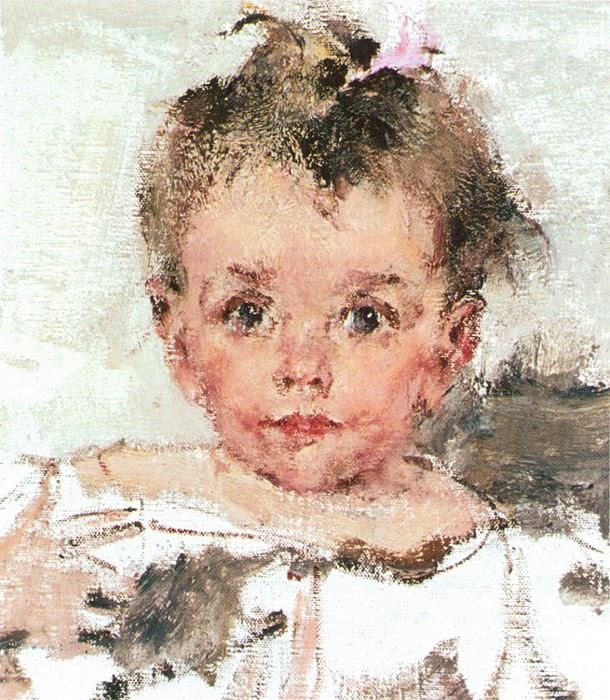 Малышка Ия (1910-е). Nikolay Feshin