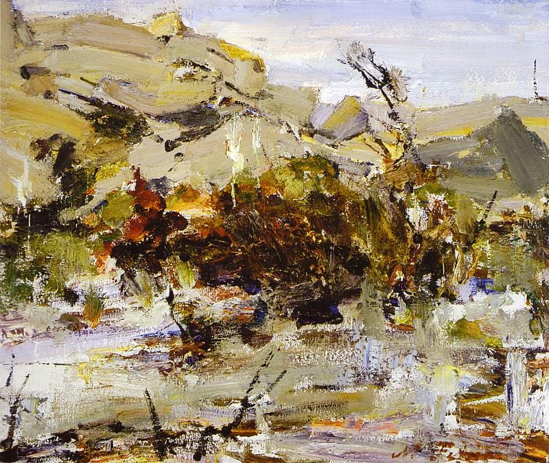 Скалы в пустыне (1940). Николай Иванович Фешин