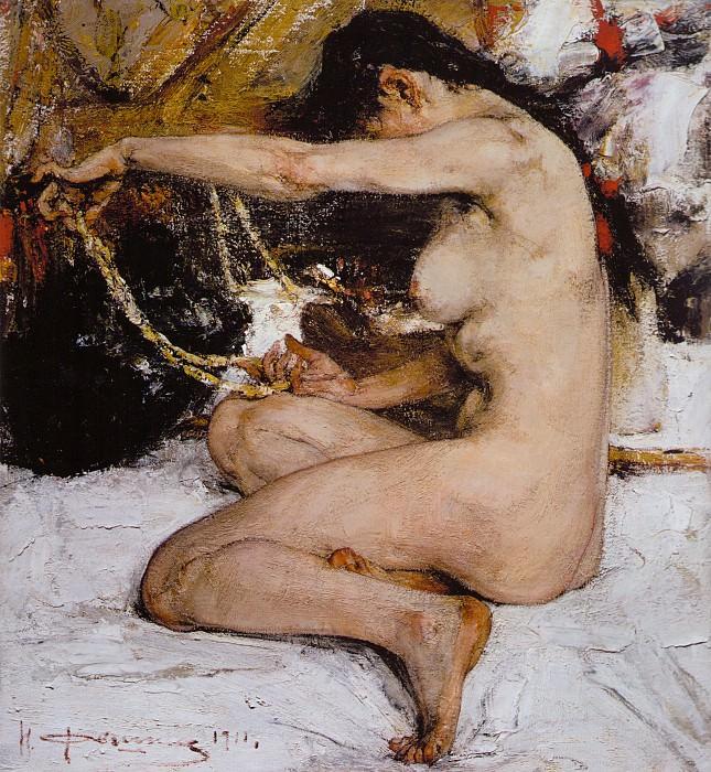 Ню (1911). Nikolay Feshin