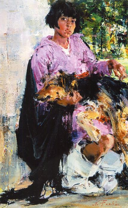Друзья (1927-1933). Nikolay Feshin