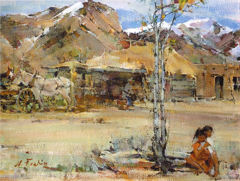 Ранчо в горах Таоса (1927-1933). Николай Иванович Фешин