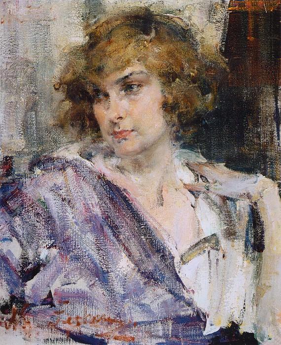 Портрет Изабель (1923-1927). Nikolay Feshin