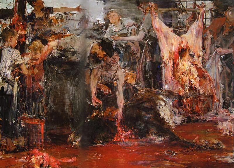 Бойня (1919). Николай Иванович Фешин
