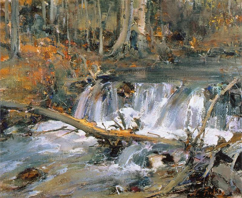 Бобровая плотина (1927—1933). Nikolay Feshin