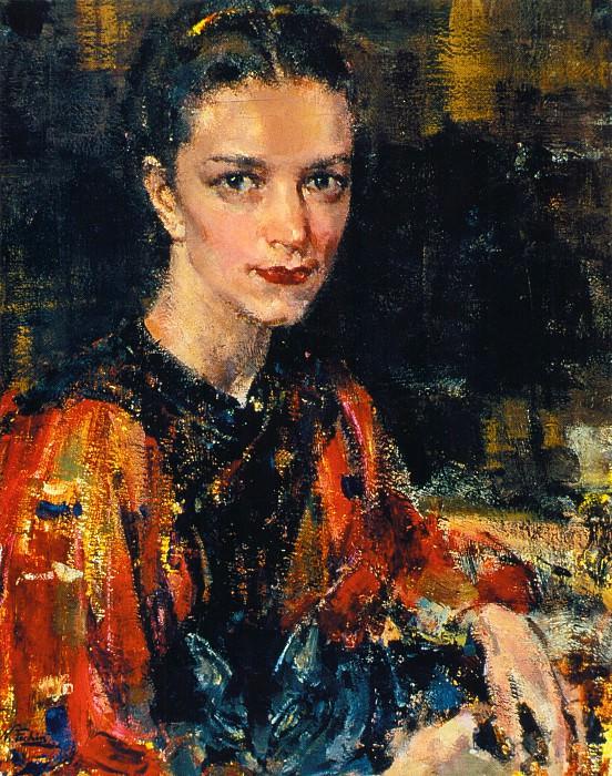 Ия Фешина (Кон.1930-х). Nikolay Feshin