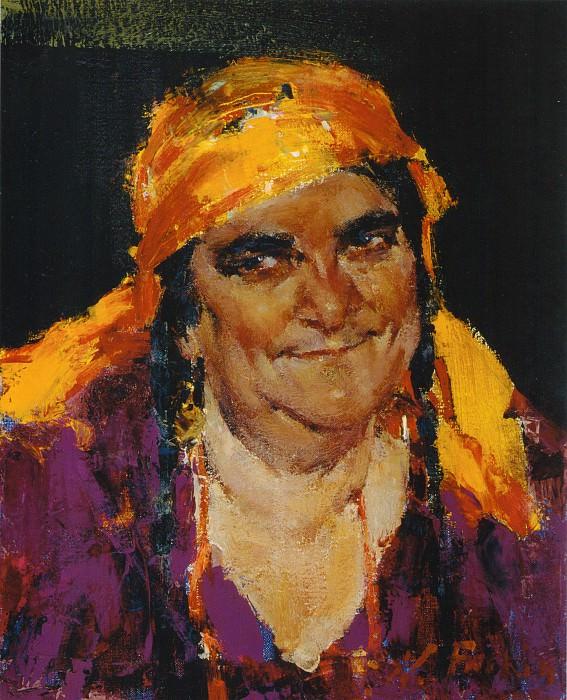 Гадалка (1934-1955). Николай Иванович Фешин
