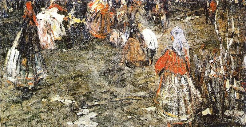 Хоровод (1910-е). Николай Иванович Фешин
