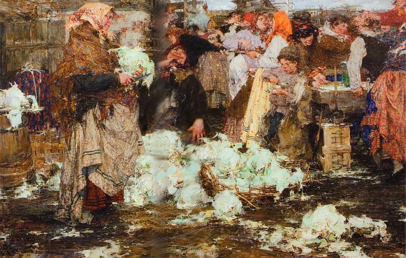 Капустница (1909). Николай Иванович Фешин