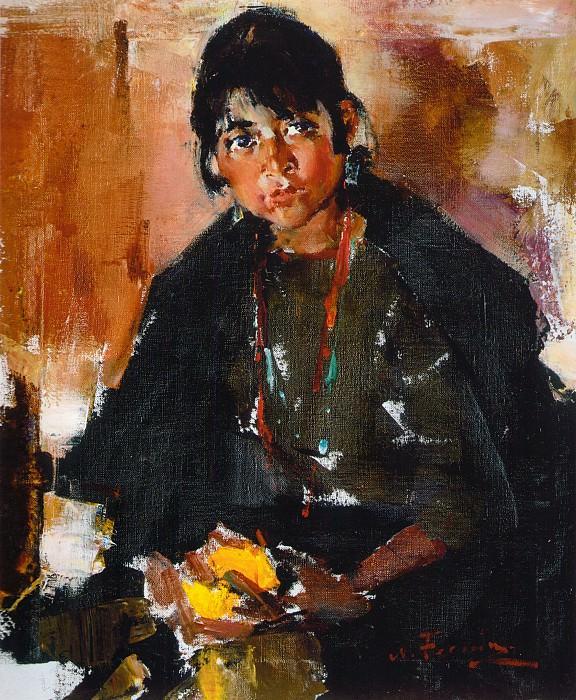Индейская девушка (1927—1933). Николай Иванович Фешин