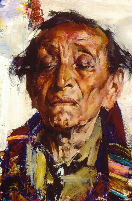Старый индеец (1927—1933). Nikolay Feshin