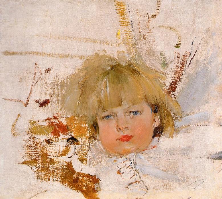 Портрет Миши Бардукова (1914). Nikolay Feshin