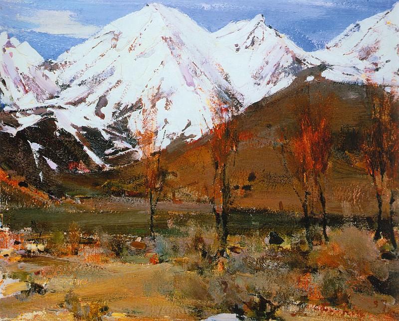 Вершины Тручас (1927—1933). Николай Иванович Фешин