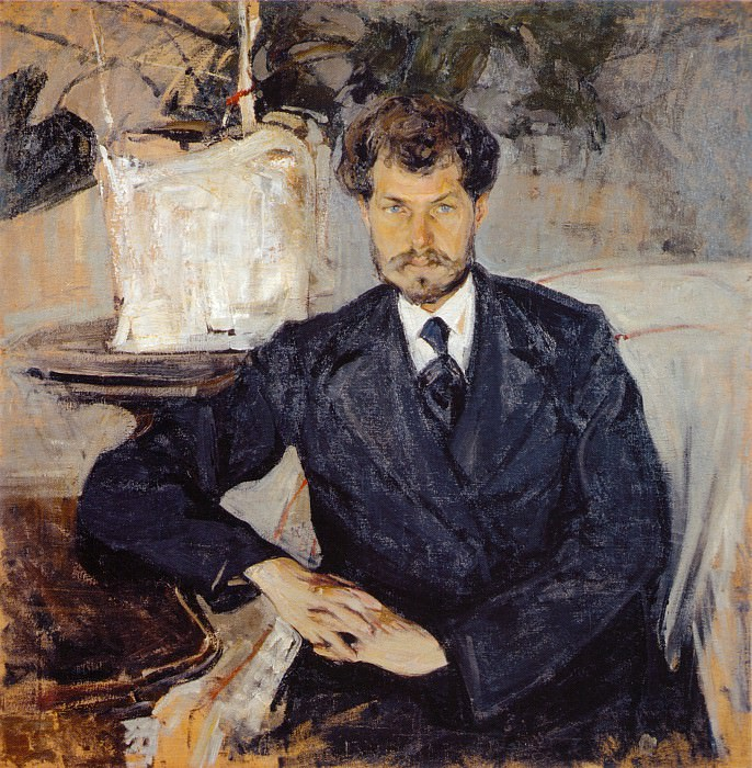 Портрет И.С.Теплова (1906). Nikolay Feshin