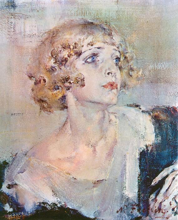 Принцесса (1940-е). Nikolay Feshin