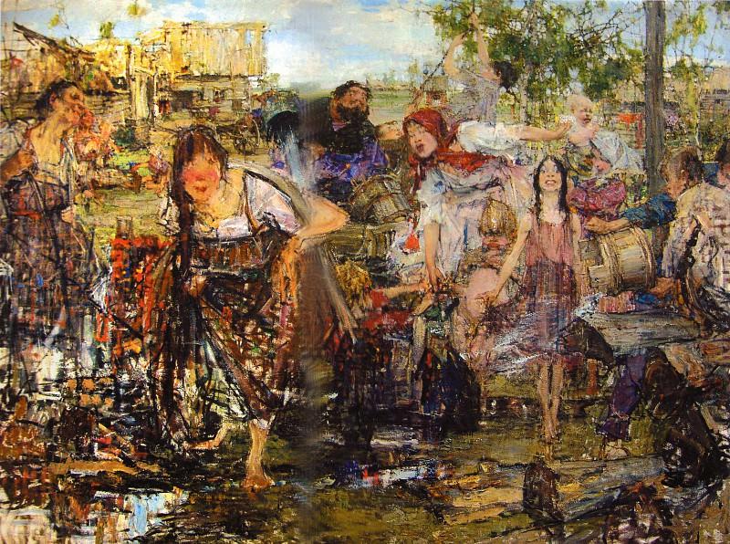 Обливание (1914). Николай Иванович Фешин
