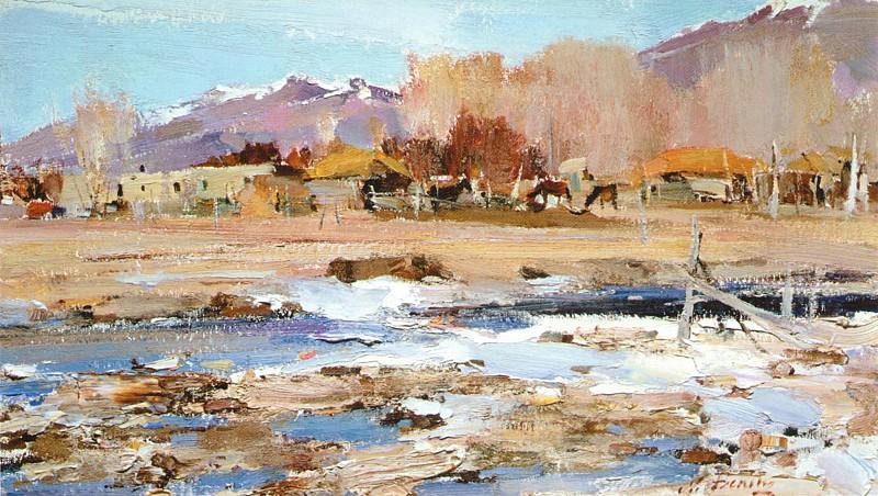 Таосский пейзаж (1927—1933) 2. Nikolay Feshin