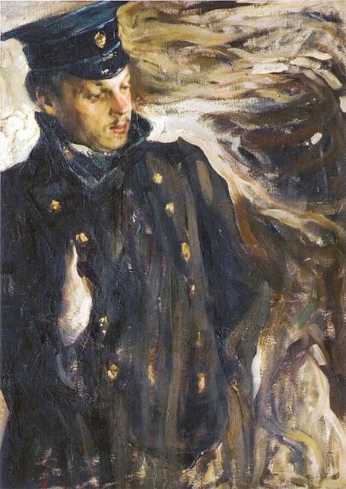 Портрет архитектора С.О.Овсянникова (1907—1908). Николай Иванович Фешин