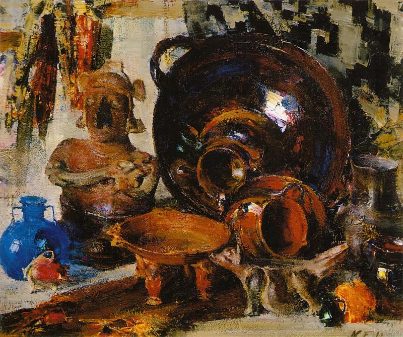 Натюрморт (1934—1955) 2. Nikolay Feshin