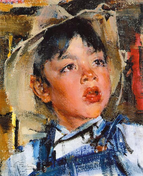 Мальчик (1927—1933). Nikolay Feshin