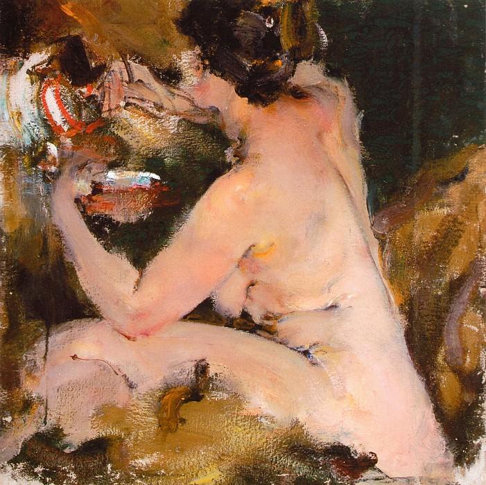Ню (1920-е). Nikolay Feshin