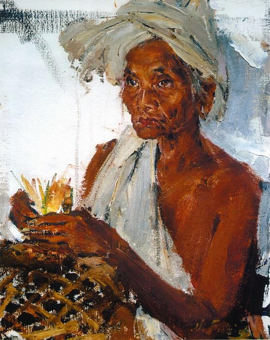 Женщина с острова Бали (После 1938) 2. Николай Иванович Фешин