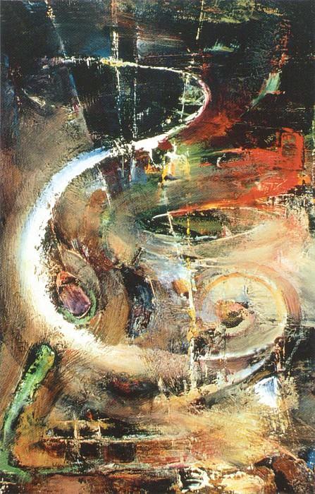 Абстрактная композиция (Ок. 1937). Nikolay Feshin