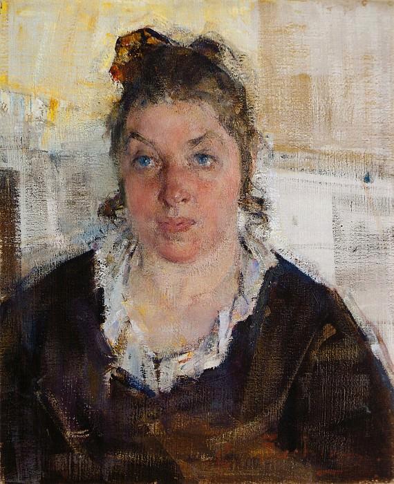 Портрет Маруси (Марии Никифоровны) Бурлюк (1923). Nikolay Feshin