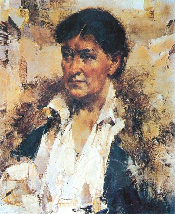 Портрет Уиллы Кэйсер (1925). Николай Иванович Фешин
