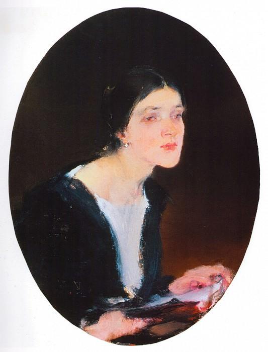 Александра Фешина (1927—1933). Nikolay Feshin