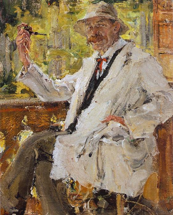 Портрет В.С.Богатырева (1916). Николай Иванович Фешин