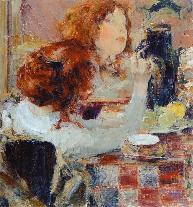 Золотые волосы (1914). Nikolay Feshin