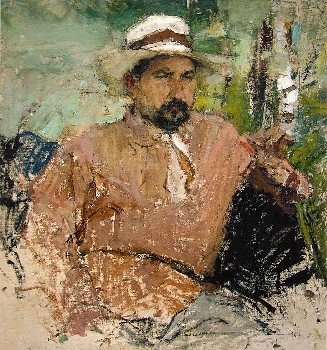 Портрет художника Г.А.Медведева (1912). Николай Иванович Фешин