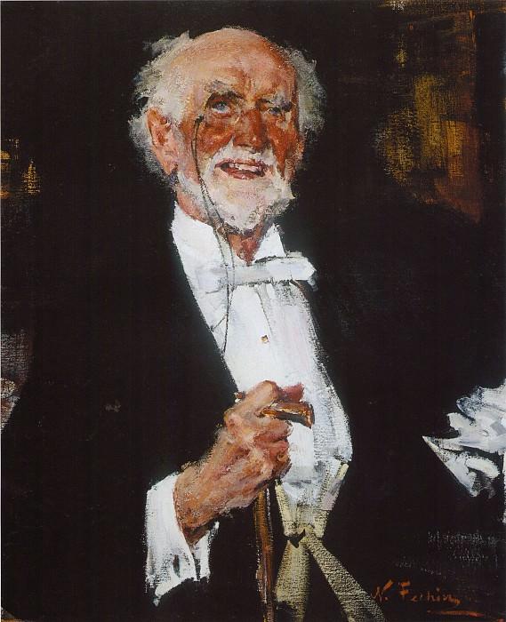 Эвэргрин (1934—1955). Николай Иванович Фешин