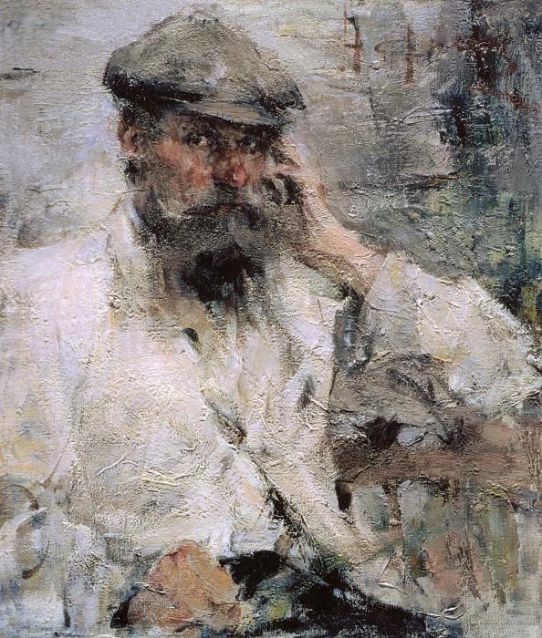Портрет отца (1910-е). Николай Иванович Фешин