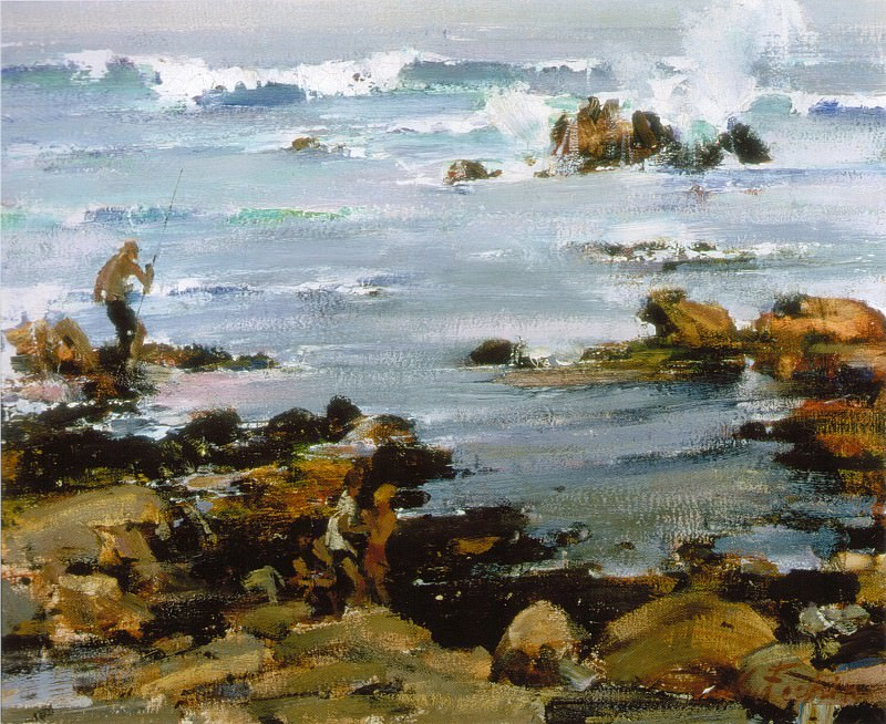 Залив Монтерей (1925). Nikolay Feshin