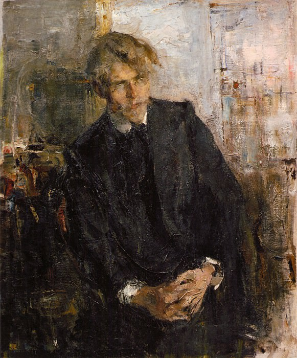 Портрет художника К.М.Лепилова (1909). Николай Иванович Фешин