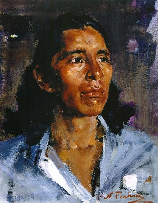 Портрет мужчины (1927—1933). Nikolay Feshin
