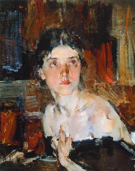 Портрет Александры (1927—1933) 2. Nikolay Feshin