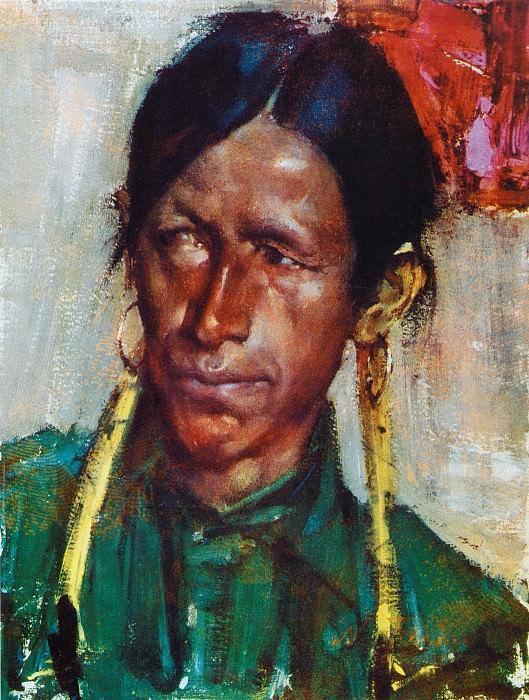 Бравый индеец (1927—1933). Nikolay Feshin