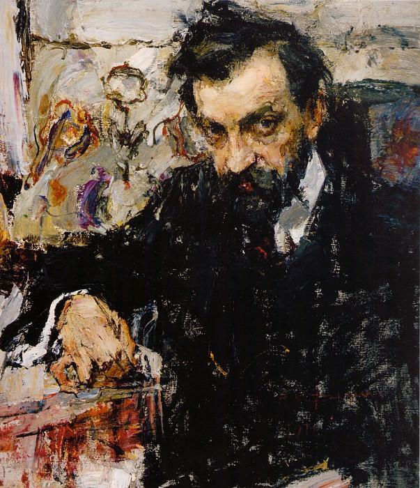 Портрет архитектора Петра Абрамычева (1912). Николай Иванович Фешин