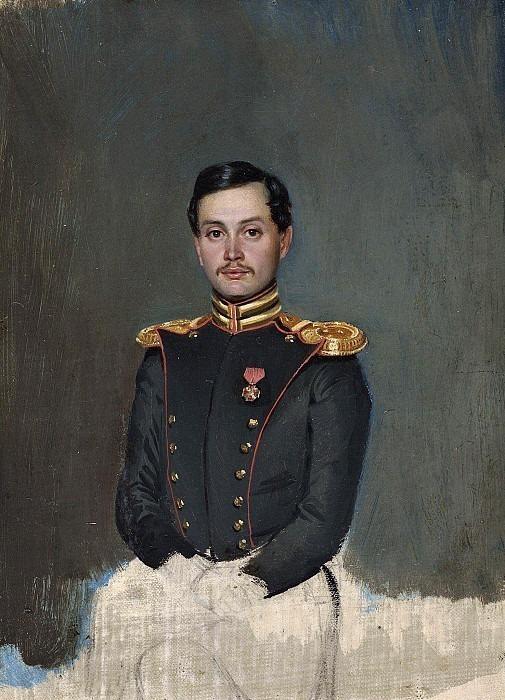 Portrait of Pyotr Vannovsky. Pavel Fedotov